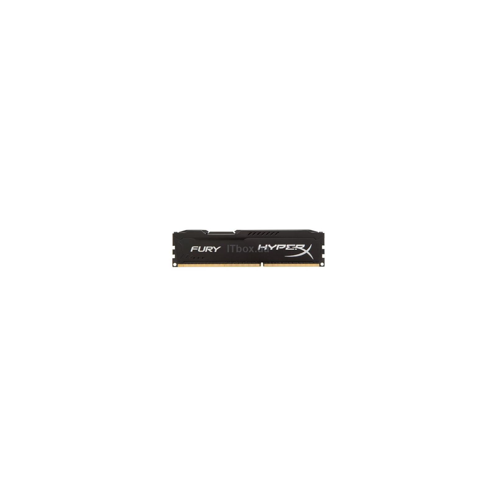 Модуль памяти Kingston HyperX Fury White Series DDR3 DIMM 1600MHz PC3-12800 CL10 - 8Gb KIT (2x4Gb) HX316C10FWK2/8
