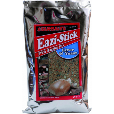 starbaits Eazi stick&bag mix liver&yeast печенка 1кг 32.65.66