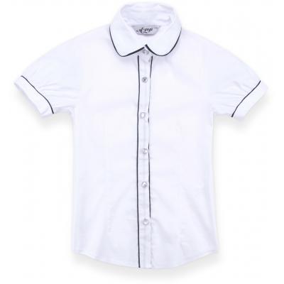 a-yugi с коротким рукавом 1576-134G-white