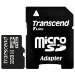 Карта памяти Transcend 32Gb microSDHC class 10 Фото