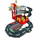 Игровой набор Bburago Гараж Ferrari (3 уровня, 2 машинки 1:43) Фото