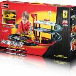 Игровой набор Bburago Гараж Ferrari (3 уровня, 2 машинки 1:43) Фото 2