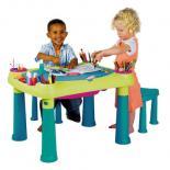 Детский стол Keter Creative Play Table + 2 stools Фото 2