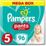 Подгузник Pampers трусики Pants Junior Размер 5 (12-17 кг), 96 шт Фото