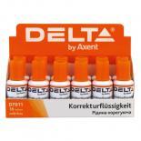 Корректор Delta by Axent fluid 18ml (display) Фото 1