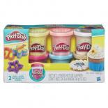 Набор для творчества Hasbro Play-Doh 6 баночек с конфетти Фото