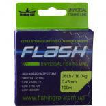 Леска Fishing ROI FLASH Universal Line 100м 0,22мм 4.9кг Фото
