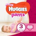 Подгузник Huggies Pants 3 для девочек (6-11 кг) 88 шт Фото