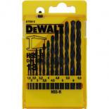 Набор сверл DeWALT HSS-R по металлу, 13шт, d=1,5-6,5мм. Фото