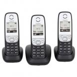 Телефон DECT Gigaset A415 TRIO Black Фото
