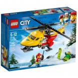 Конструктор LEGO City Вертолет скорой помощи Фото