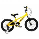 """Детский велосипед Royal Baby BULL DOZER 18"""", желтый Фото"""