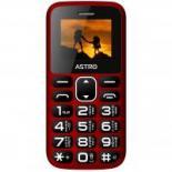 Мобильный телефон Astro A185 Red Фото
