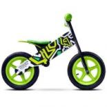 Беговел Caretero Zap Черно-зеленый Фото 1