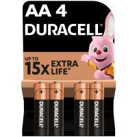 Батарейка Duracell AA MN1500 LR06 * 4 Фото