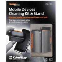 Универсальный чистящий набор ColorWay Mobile Devices Cleaning Kit & Stand Фото