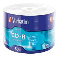 Диск CD Verbatim 700Mb 52x Wrap-box Extra Фото