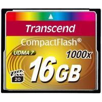 Карта пам'яті Transcend 16Gb Compact Flash 1000x Фото
