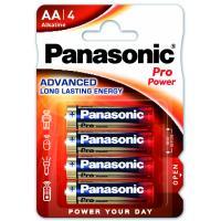 Батарейка Panasonic AA PRO POWER * 4 Фото