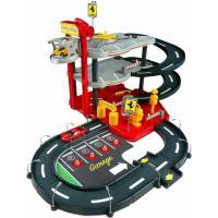 Ігровий набір Bburago Гараж Ferrari (3 уровня, 2 машинки 1:43) Фото