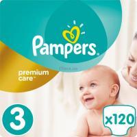 Подгузник Pampers Premium Care Midi Размер 3 (5-9 кг), 120 шт Фото