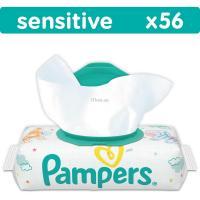 Влажные салфетки Pampers Sensitive, 56 шт Фото