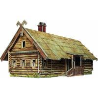 Сборная модель Умная бумага Кутузовская изба в Филях Фото
