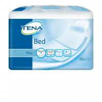 Пеленки для младенцев Tena Bed Plus 40х60 35 шт Фото
