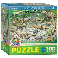 Пазл Eurographics Динозавры 100 элементов Фото