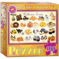 Пазл Eurographics Угощения на Хэллоуин 100 элементов Фото