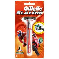 Бритва Gillette Slalom Red c 1 сменным картриджем Фото