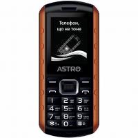 Мобильный телефон Astro A180 RX Black Orange Фото