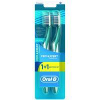Зубная щетка Oral-B Pro-Expert Complete 7 средняя 1 шт + 1 шт бесплатн Фото