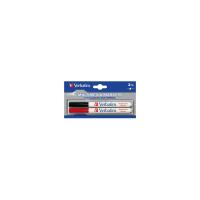 Маркер Verbatim MULTI MEDIA MARKER 2шт/PACK (BLACK/RED) Фото
