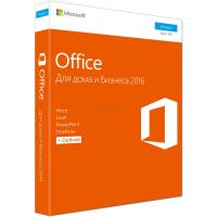 Офисное приложение Microsoft Office 2016 Home and Business Russian DVD P2 Фото