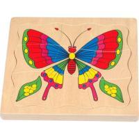 Пазл Мир деревянных игрушек Бабочка Фото