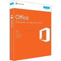 Офисное приложение Microsoft Office 2016 Home and Student Ukrainian Medialess P Фото