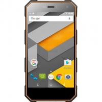 Мобильный телефон Sigma X-treme PQ24 Dual Sim Black-Orange Фото