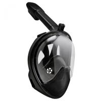 Маска для дайвинга JUST Breath Pro Diving Mask L/XL Black Фото