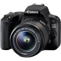 Цифровой фотоаппарат Canon EOS 200D 18-55 IS STM Black Kit Фото