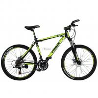"Велосипед Trinx M136 26""х19"" Matt-Black-Green-White Фото"