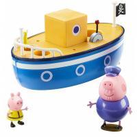 Игровой набор Peppa МОРСКОЕ ПРИКЛЮЧЕНИЕ (кораблик, 2 фигурки) Фото