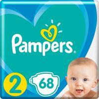 Подгузник Pampers New Baby Mini Размер 2 (4-8 кг), 68 шт. Фото