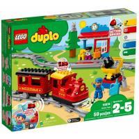 Конструктор LEGO Поезд на паровой тяге 59 деталей Фото