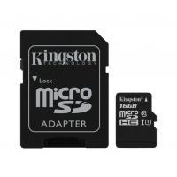 Карта пам'яті Kingston 16GB microSDHC Class 10 Canvas Select Plus 100R A1 Фото