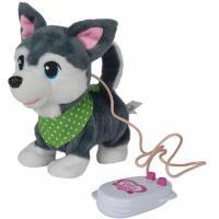 Інтерактивна іграшка Simba Chi Chi Love Друзья щенки Серый 20 см Фото