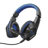 Навушники Trust GXT 404B Rana Gaming Headset for PS4 3.5mm BLUE Фото