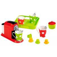 Игровой набор Ecoiffier Кофеварка Chef с посудой и подносом Фото