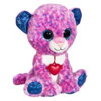 М'яка іграшка Fancy Глазастик Леопард 22 см Фото
