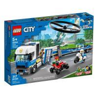 Конструктор LEGO City Police Полицейский вертолётный транспорт 317 Фото